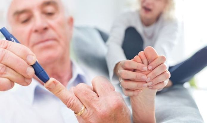 Diabetes type 2: The eight signs found in your feet warning of high blood sugars