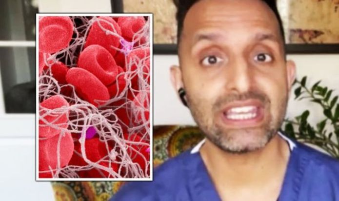 Dr Amir reveals how many days should pass after jab before blood clotting symptoms appear