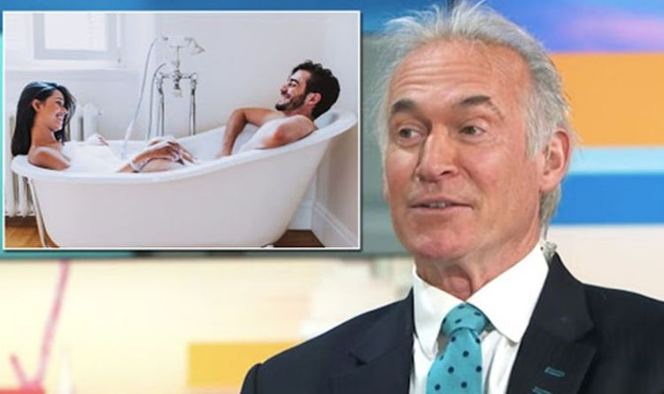 Dr Hilary settles row on whether sharing bath water is hygienic after GMB row