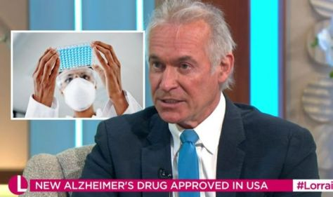 Game-changing Alzheimer's drug 'targets the cause of dementia' - Dr Hilary