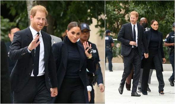 Meghan Markle's head-to-toe black outfit sparks royal row 'What do you expect? Hot pink?'