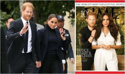 Meghan Markle uses power suits give her a 'spotlight' and shows 'she's got work to do'