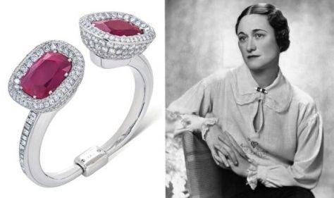 Wallis Simpson's diamond bracelet set to sell for almost £2million at historical auction