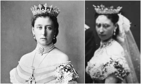 Strawberry Leaf Tiara - Royal diadem that 'brings bad luck' to 'anyone who owns it'