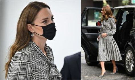 Trendsetter: Duchess of Cambridge causes huge spike in demand for 'houndstooth' dresses