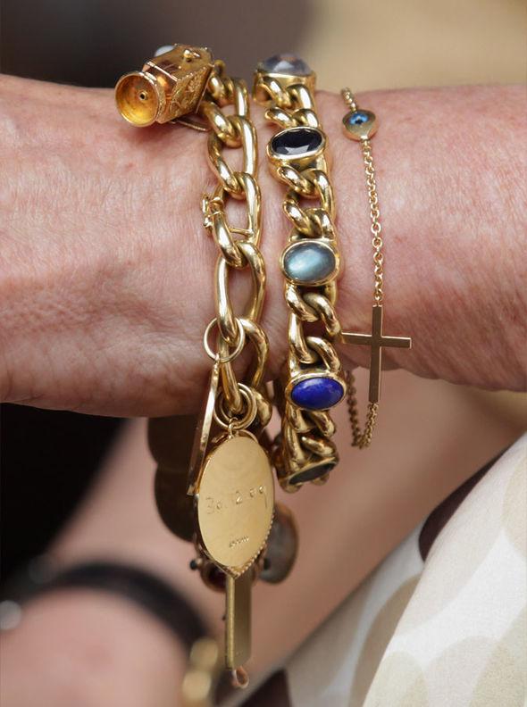 Camilla Parker Bowles' bracelets