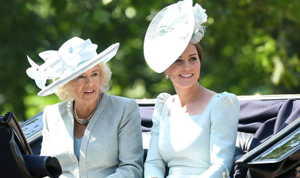 kate middleton princess charlotte balcony news pictures
