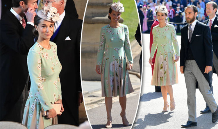 Royal Wedding: Pippa Middleton Pictured Arrived At Church