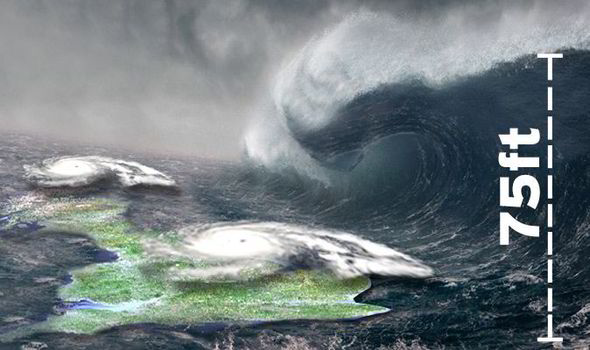 A record wave has just hit Britain but forecasters warn far worse is coming