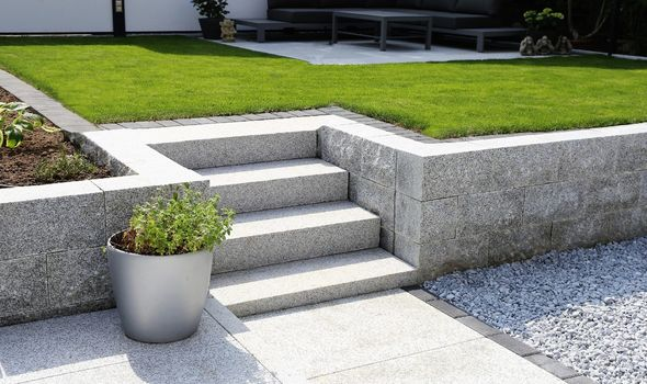 how to build your own patio steps