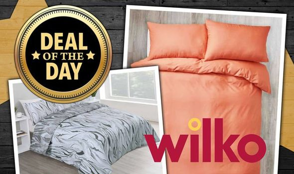 Wilko slashes 30 percent off bedding sets in sale