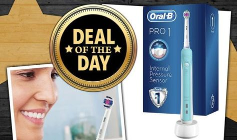 DEAL OF THE DAY: Save 50% on the Oral-B Pro - now under £25