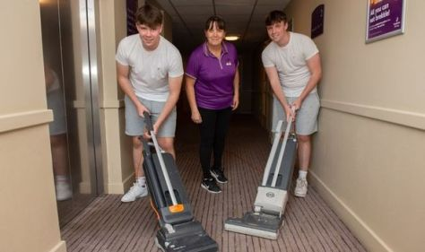 Nine in ten parents say their teens lack domestic skills - including ironing and vacuuming