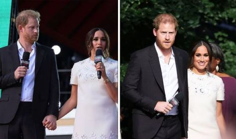 Meghan didn't 'return' gesture to Harry during NY outing - 'less bonded together'