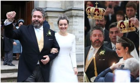 'Wonderfully regal': Russian royal wedding body language showed 'intimacy and affection'
