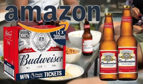 'Lovely Beer with no hangover' - get 3 cases of Budweiser for £21 on Amazon