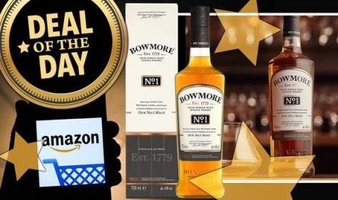 'This is a steal!' - This Bowmore whiskey with 1,900 5-star reviews is on sale for £20