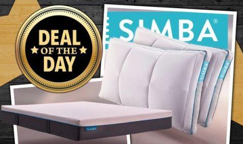 HUGE Simba Sleep sale: Save 40% on mattresses, bedding, and more