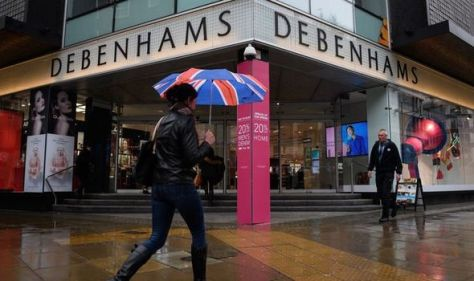 Debenhams returns! High street legend hiring ahead of new store opening