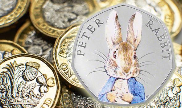 A Peter Rabbit 50p