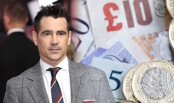 Colin Farrell net worth: Pictures of Dumbo actor