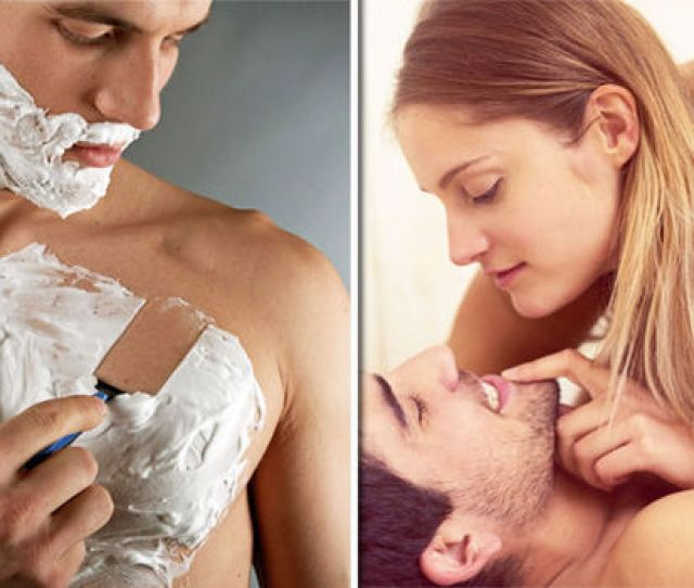 Man Shaving And Couple Sleeping Together
