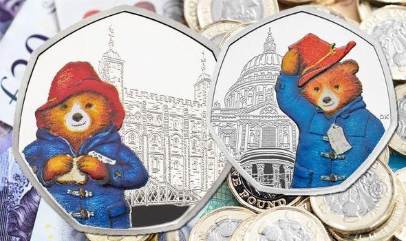 paddington bear 50p coins # 35