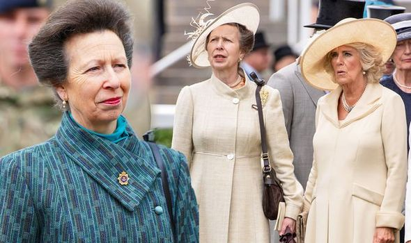Princess Anne: Body language with Camilla Parker Bowles ...