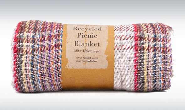 Country Club Recycled Cotton Picnic Blanket