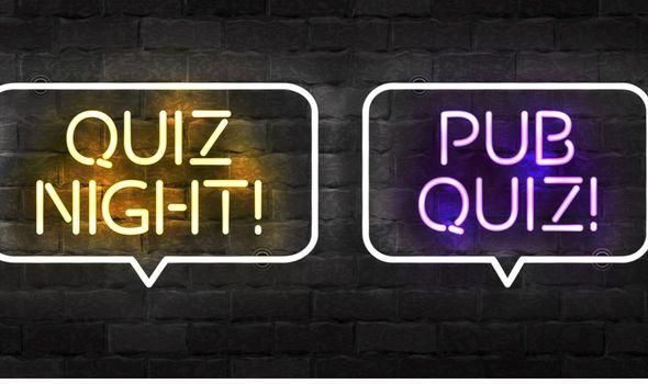 Easy quiz questions: Quiz sign