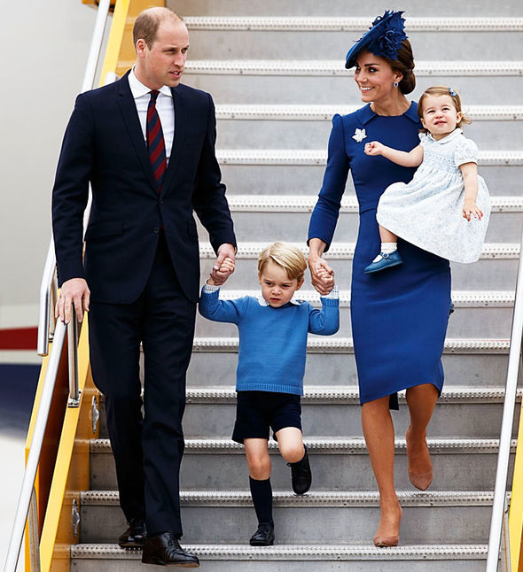 Kate Middleton, Prince William and their children
