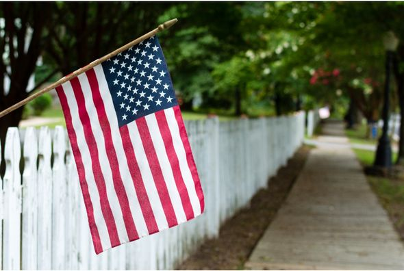 Labor Day greetings, messages and quotes: US Flag