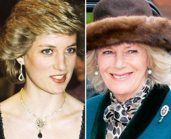 Princess Diana Wedding Present Worn By Camilla Parker