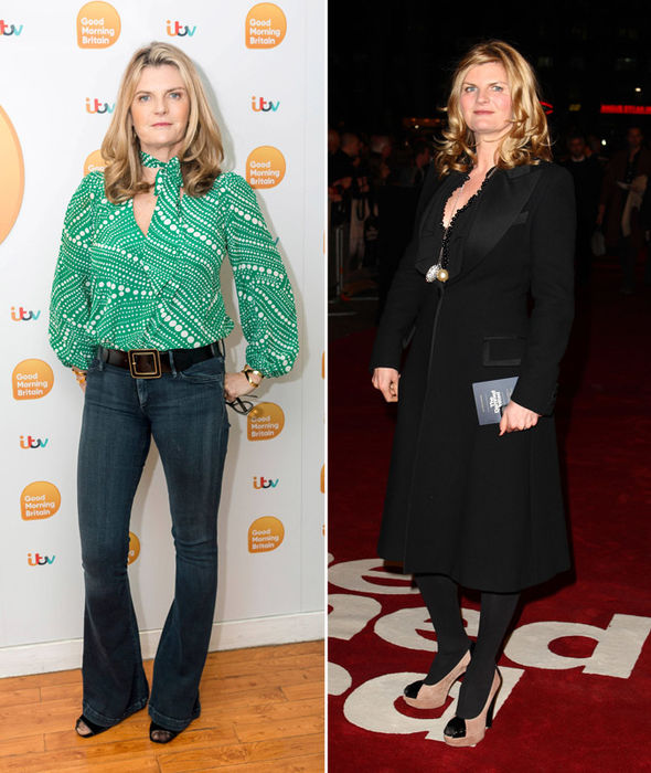 Susannah Constantine shows off weight loss thanks to Sport Relief challenge