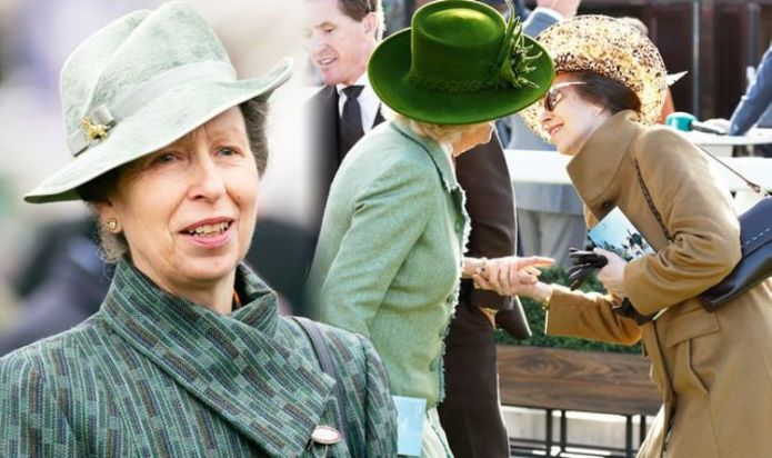 Princess Anne's 'tense' body language suggests change in relationship with Camilla