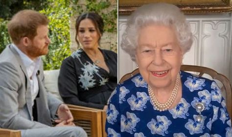 Our stoic Queen: 'Giving little away of any inner turmoil' after Harry and Meghan talk
