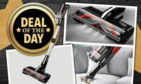 DEAL OF THE DAY: Save £76 on this MIC vacuum that's 'super light with amazing performance'