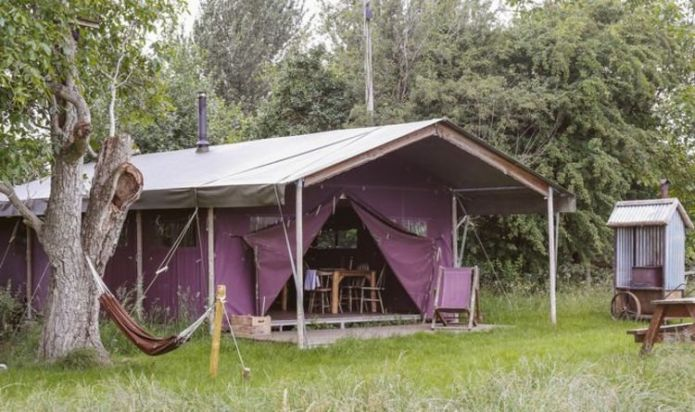 Kickback under the stars on a luxurious glamping trip
