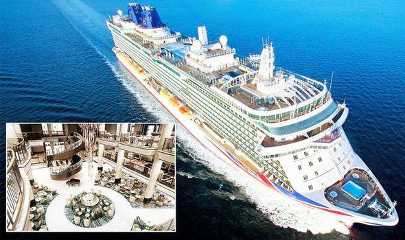 Cruise: P&O Cruises unveils cruise ship's million-pound refit – Britannia's new look 1188624 1