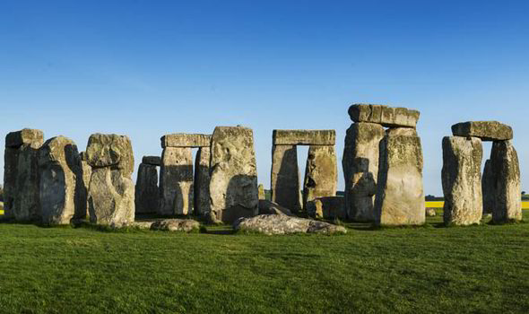 Stonehenge, in Wiltshire - Europe's most famous prehistoric monument