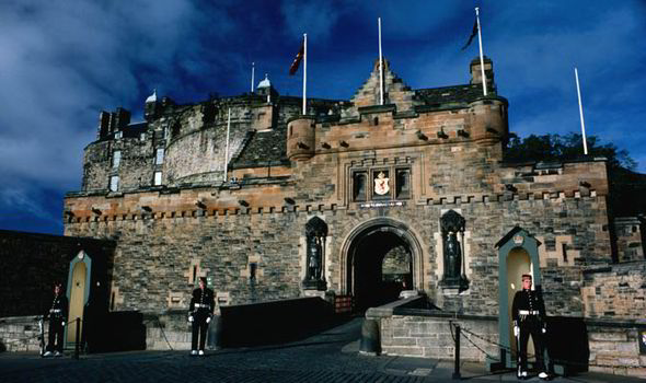 Edinburgh Caste built in the Bronze Age, home to Scottish monarchs