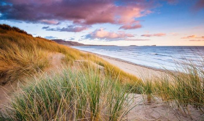 Wales' Gower Peninsula boasts majestic views and natural beauty