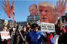 Donald Trump protests Inauguration Day anti Trump demonstrations UK US President