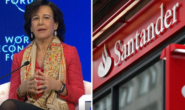 Santander boss Ana Botin