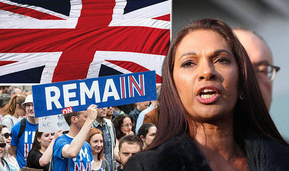 Remainer Gina Miller