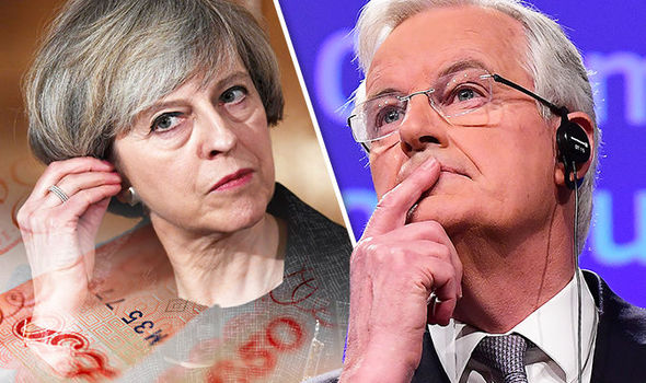 Theresa May - Michel Barnier