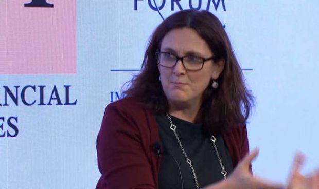 EU trade chief Cecilia Malmstrom