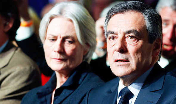Francois Fillon Penelope financial scandal French election