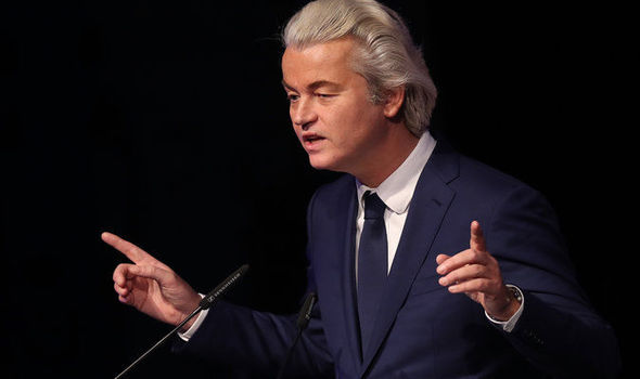 Populist leader Geert Wilders