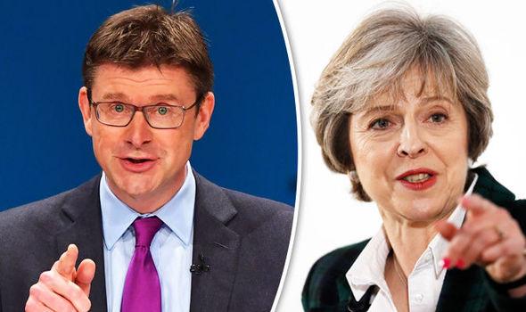 Greg Clark and Theresa May